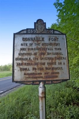 Connable Fort Marker Photo, Click for full size