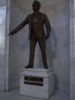 State Capitol , Robert C. Byrd, U.S. Senator image. Click for full size.