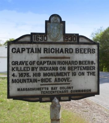 Captain Richard Beers Marker image. Click for full size.