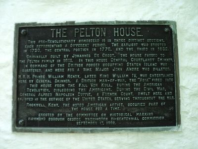 The Pelton House Marker image. Click for full size.