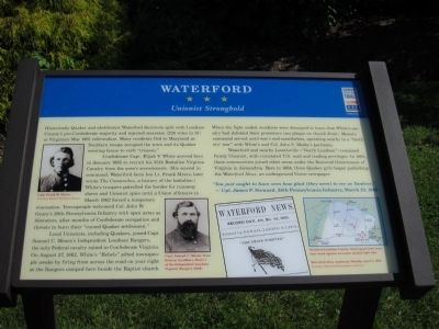 Waterford Marker Photo, Click for full size