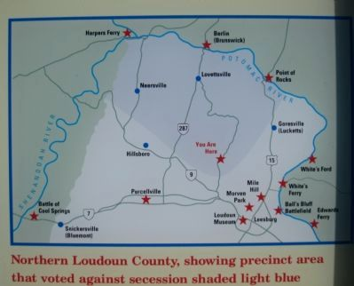 Northern Loudoun Map Photo, Click for full size