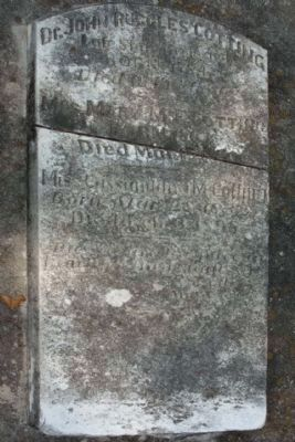 Memory Hill Cemetery, Dr. John Ruggles Cotting Grave image. Click for full size.