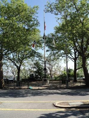 New brighton world war ii memorial historical marker for 1 garden terrace north arlington nj