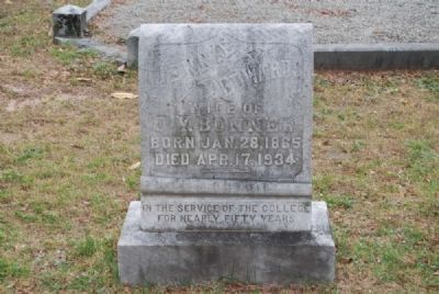 Jennie Edwards Tombstone<br>Due West A.R.P. Church Cemetery Photo, Click for full size
