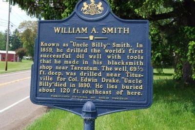 William A. Smith Marker image. Click for full size.