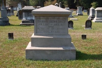 Rev. Mark Brown Grier<br>Due West A.R.P. Church Cemetery Photo, Click for full size