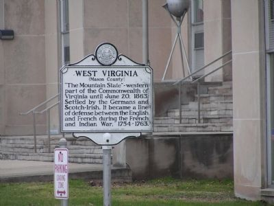 West Virginia (Mason County) Marker image. Click for full size.
