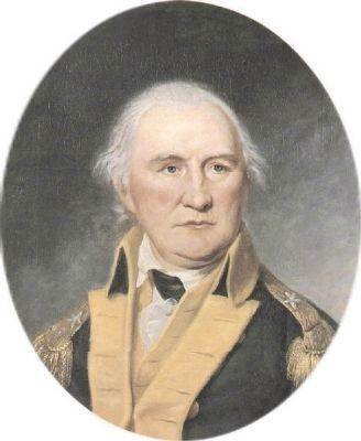 Brig. General Daniel Morgan (1736&#8211;1802) -<br>Commander of the Continental Army image. Click for full size.