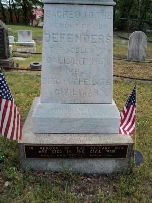 Staten Island Civil War Memorial Marker image. Click for full size.