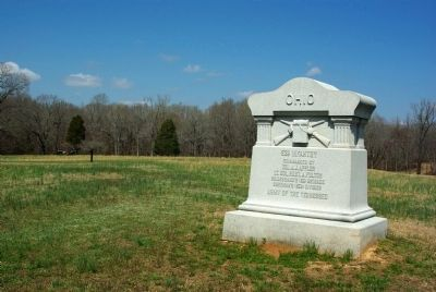53rd Ohio Infantry Marker image. Click for full size.