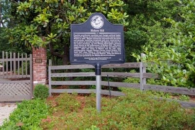 Hickory Hill Marker Photo, Click for full size