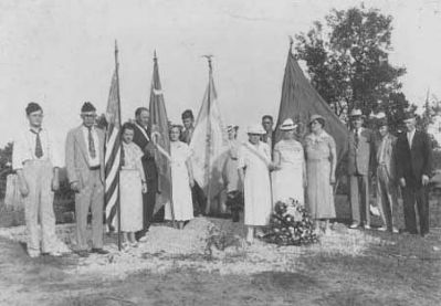 Battle of Cowpens Monument Groundbreaking Ceremonies image. Click for full size.