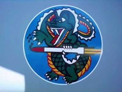 "318th FIS ""Green Dragons"" insignia image. Click for full size."