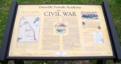 Danville Female Academy Marker image. Click for full size.