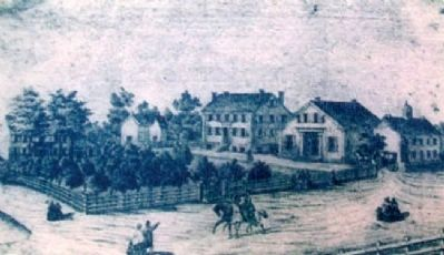 Danville Female Academy Engraving image. Click for full size.