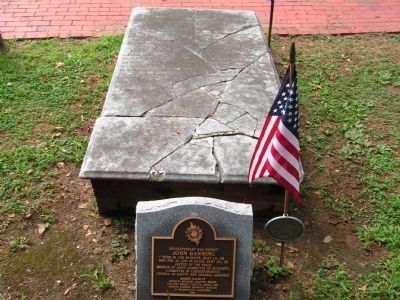 John Banning Marker & Tombstone Photo, Click for full size
