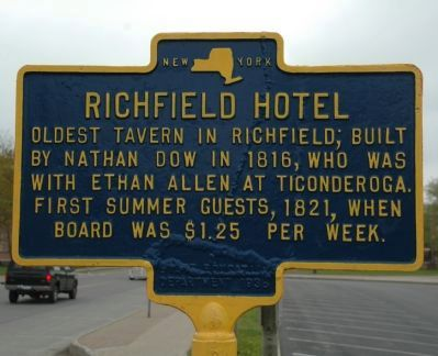Richfield Hotel Marker image. Click for full size.