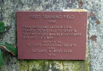 First Training Field Marker image. Click for full size.