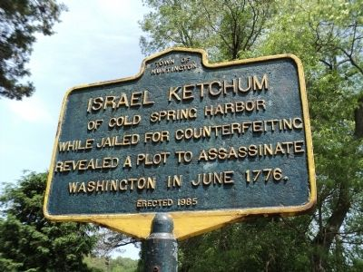 Israel Ketchum Marker image. Click for full size.