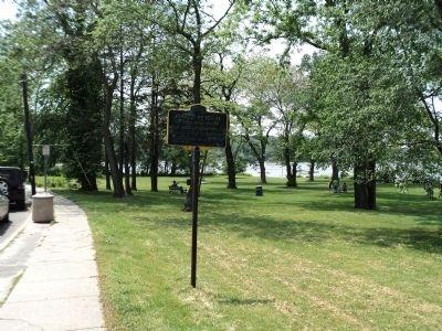 Marker in Cold Spring Harbor image. Click for full size.