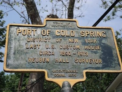 Port of Cold Spring Marker image. Click for full size.