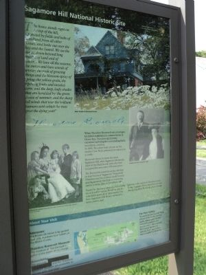 Sagamore Hill National Historic Site Marker image. Click for full size.