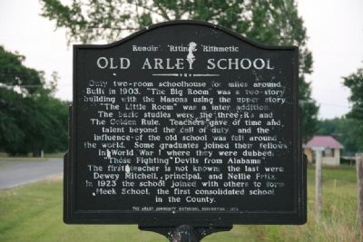 Old Arley School Marker image. Click for full size.