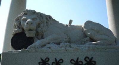Lion of Lucerne Marker Photo, Click for full size