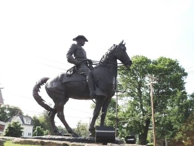 Theodore Roosevelt Rough Rider Statue image. Click for full size.