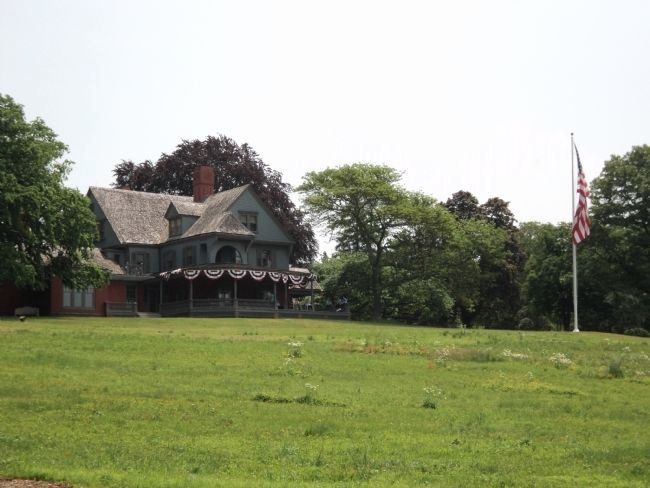 Roosevelt Home at Sagamore Hill image. Click for full size.