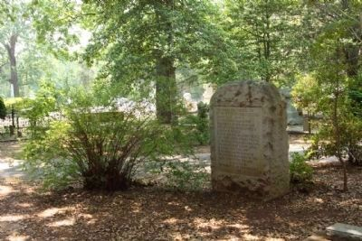 The Methodist Church Marker found in Milledgeville's Memory Hill Cemetery image. Click for full size.