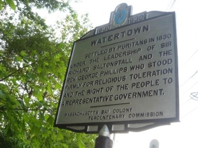 Watertown Marker - South face image. Click for full size.