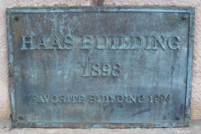 Favorite Building Marker on Haas Warehouse image. Click for full size.