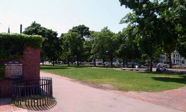 Wider View Across Cambridge Common image. Click for full size.