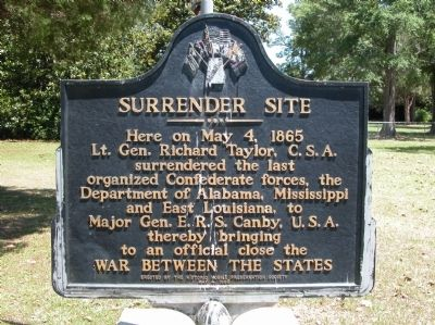 Surrender Site Marker Photo, Click for full size