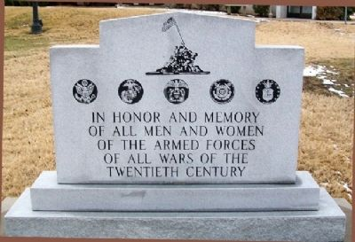 20th Century Wars Memorial image. Click for full size.