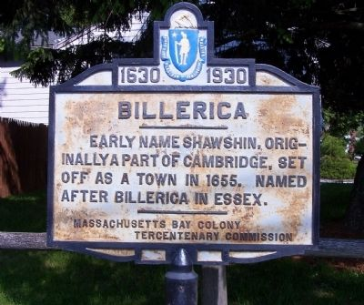 Billerica Marker image. Click for full size.