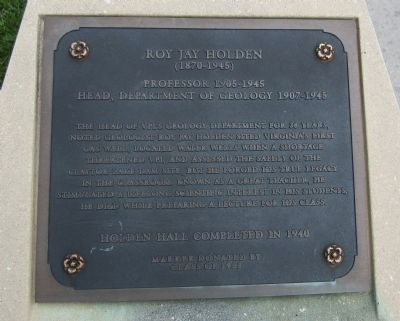 Roy Jay Holden Marker image. Click for full size.