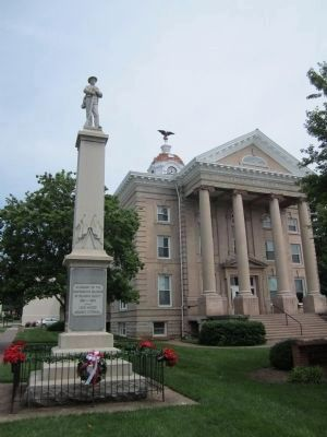 Old Roanoke County Court House image. Click for full size.