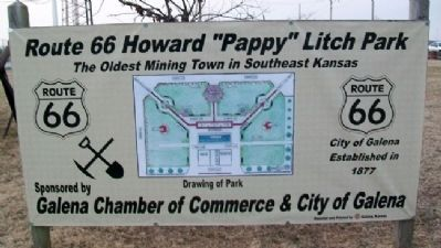 Litch Park Sign image. Click for full size.