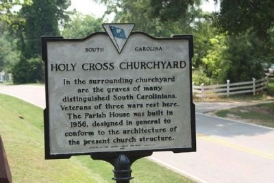 Holy Cross Churchyard Marker image. Click for full size.