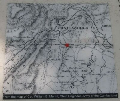 Rossville Gap Marker Photo, Click for full size