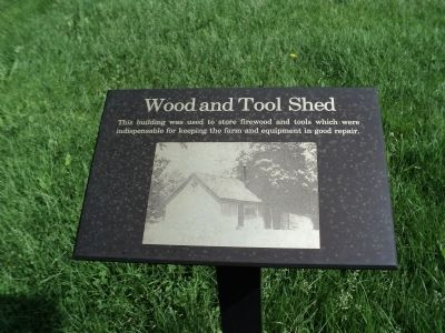 Wood and Tool Shed Marker image. Click for full size.