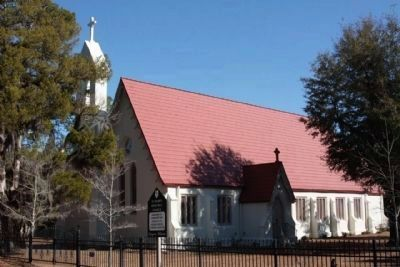 Present day St. Mark's Church located, near Pinewood, as mentioned image. Click for full size.
