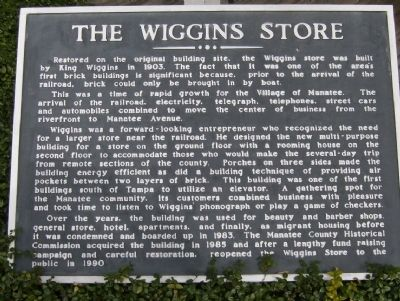 The Wiggins Store Marker image. Click for full size.