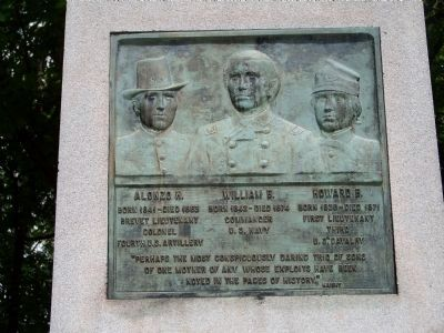 Cushing Memorial Plaque Photo, Click for full size