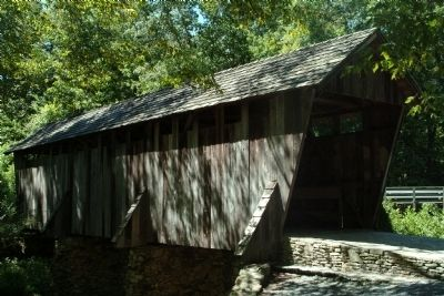 Pisgah Covered Bridge image. Click for full size.
