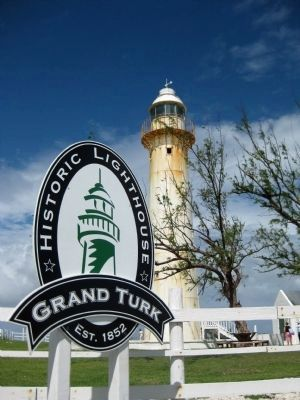 The Historic Grand Turk Lighthouse Photo, Click for full size