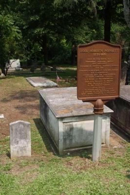 Holy Cross Churchyard , Joel Roberts Poinsett grave image. Click for full size.